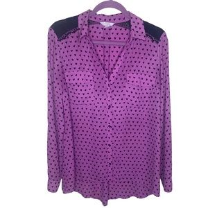 Candie's Heart Blouse